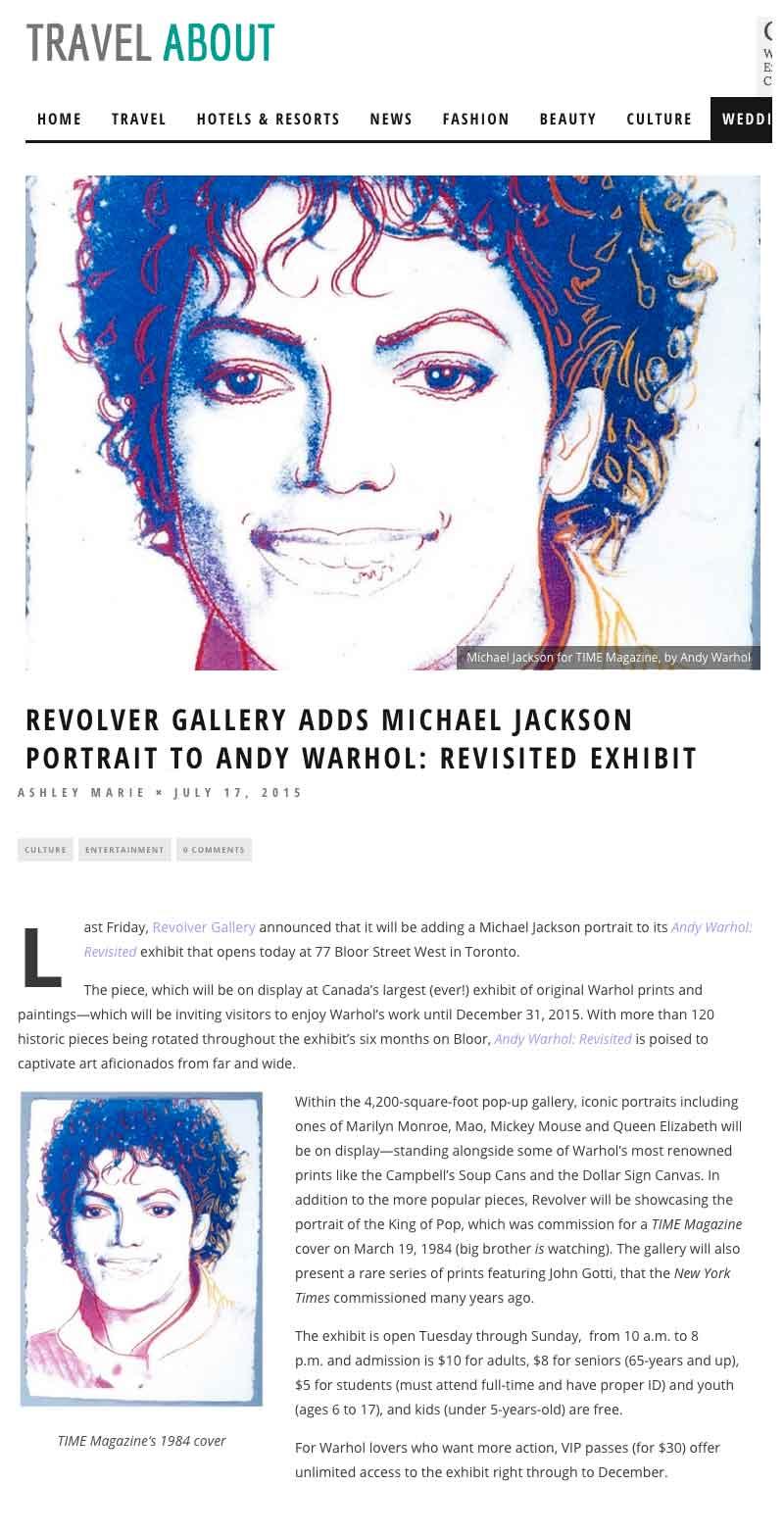 Travel About Warhol